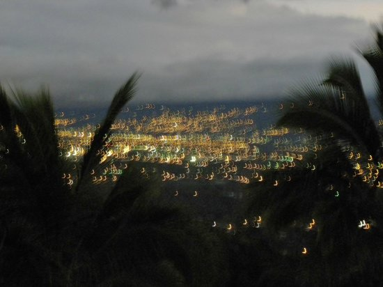 Hotel Buena Vista: View of Central Valley at night