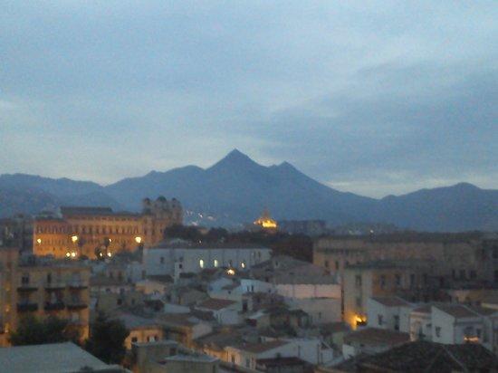 Torre di San Nicolo all'Albergheria: Vista del Palazzo Reale.