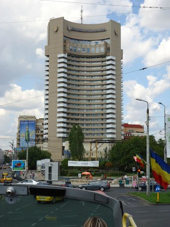 InterContinental Bucharest: Fachada do Hotel