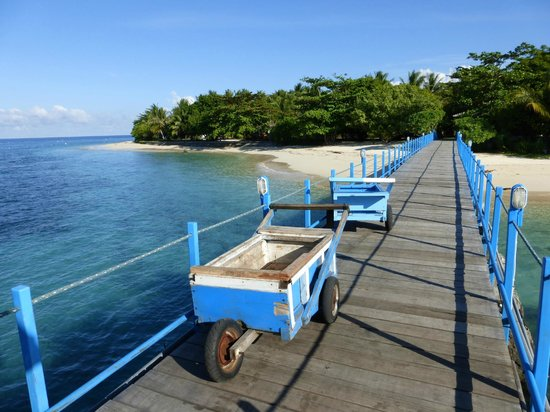 Gangga Island Resort & Spa : Jetty