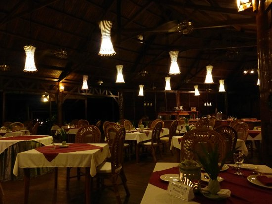 Gangga Island Resort & Spa: Dining area