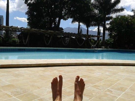 Barcelo San Jose Palacio : Pool area