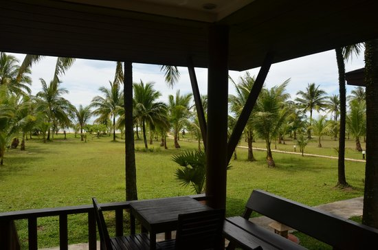 C&N Kho Khao Beach Resort: View from the bungalow