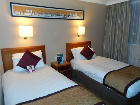 Crowne Plaza Manchester Airport: Sleeping area