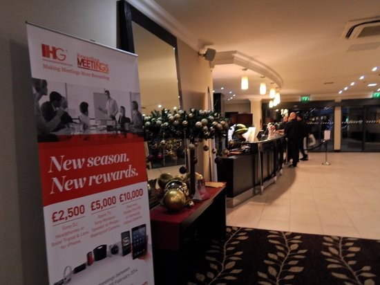 Crowne Plaza Manchester Airport: Reception