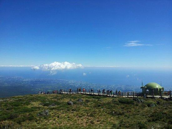 Jeju, Corea del Sur: Вершина Халласана