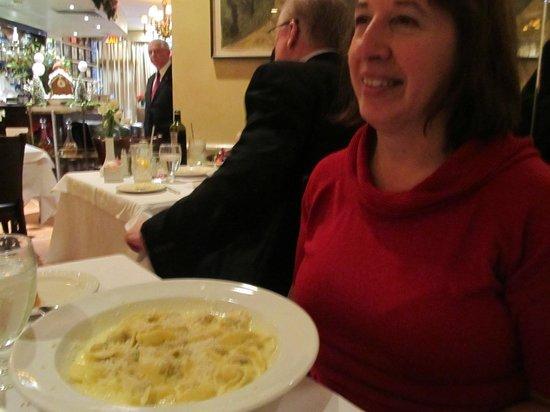 Patsy's Italian Restaurant : Pumkin Pasta