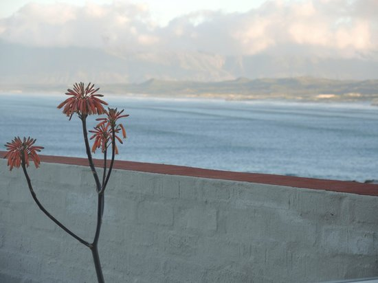 Marebella Seafront Guesthouse: Blick vom Balkon