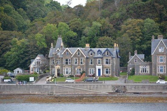Kilchrenan House: View from ferry