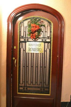 Hospedaje Romero: Puerta de entrada