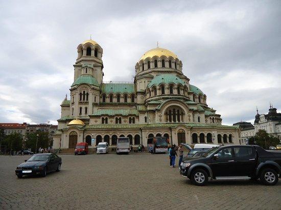 Cathédrale Alexandre-Nevski de Sofia : lexandre Nevsky em Sófia, Bulgária.