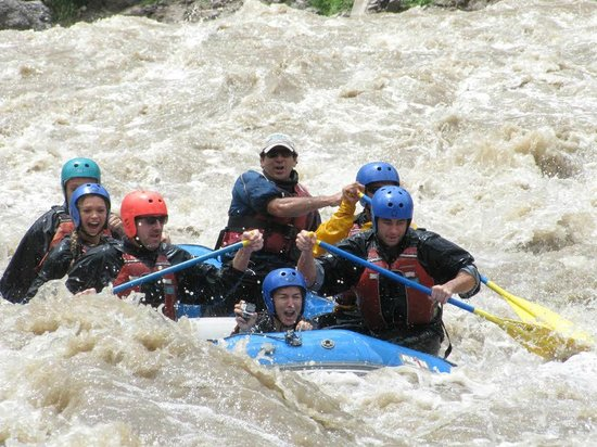 Inkatraces Day Tours: White Water Rafting down Sacred River