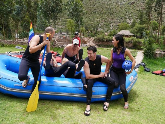 Inkatraces Day Tours : Post White Water Rafting!