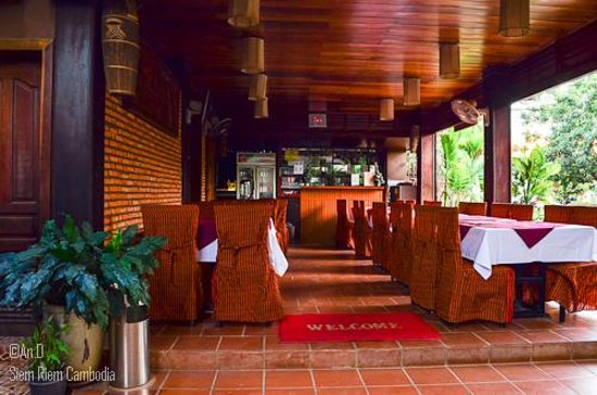 Shining Angkor Boutique Hotel: The restaurant