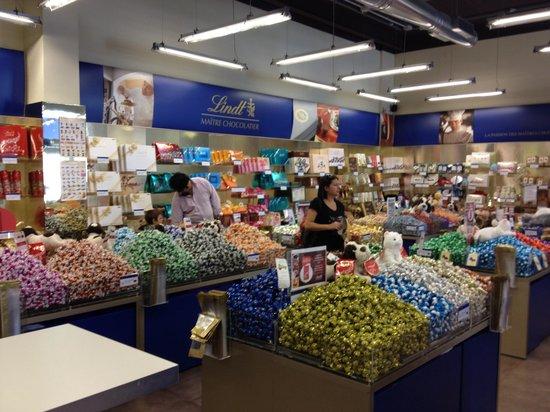 Valmontone, Italia: можно и шоколад
