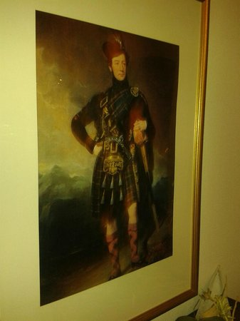 Parkhotel Helmstedt: A Scotsman in the middle of Germany... A previous owner of the Parkhotel or just a famous guest?