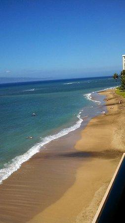 Kahana Beach Resort: From our balcony