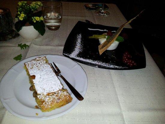 Restaurant Freina: Dessert