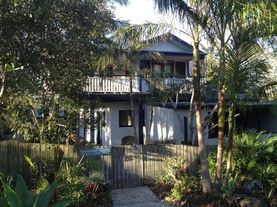 Cavvanbah Beach House: From the beach side...