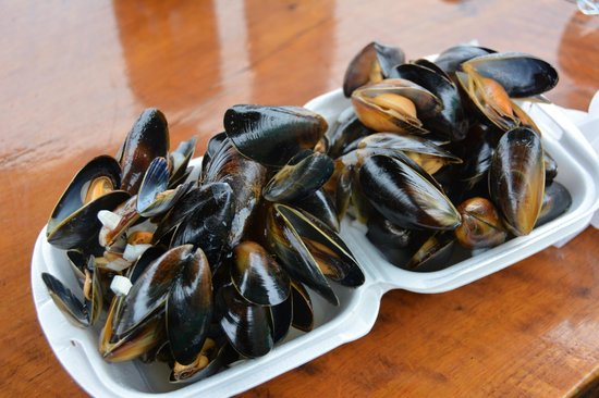 Oban Seafood Hut: More Yummy Mussels
