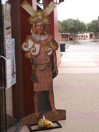 Museo Tumbas Reales del Señor de Sipán: Representación del Señor de Sipán.