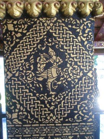 Vat Xienthong (Wat Xieng Thong): fresque