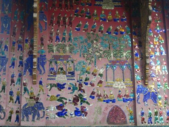 Vat Xienthong (Wat Xieng Thong): bleu