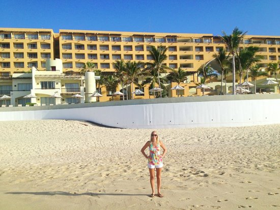 Marquis Los Cabos All-Inclusive Resort & Spa: back of the hotel