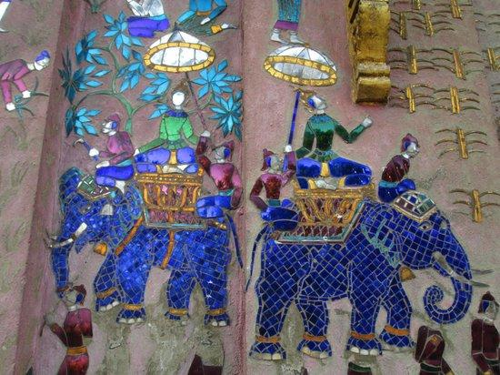 Tempel van de Gouden Stad (Wat Xieng Thong): bleu