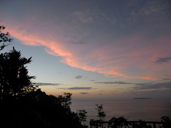 Casa Corcovado Jungle Lodge : Sunset with margaritas