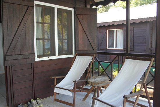 Picard Beach Cottages: Veranda's view