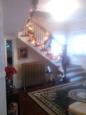 Rose Hill Bed & Breakfast: Entry room stair