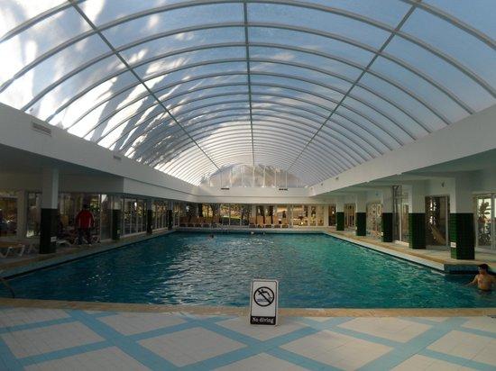 Hotel Marhaba: Indoor pool,lovely and warm