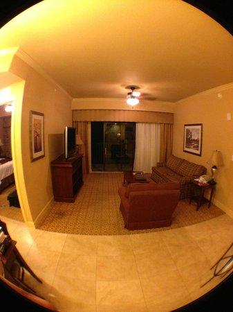 Lake Eve Resort: Interior do apartamento