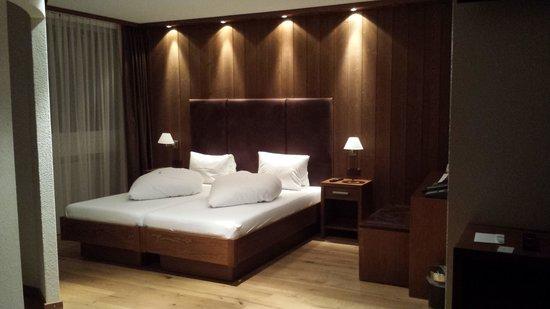 Parkhotel Quellenhof: suite superior
