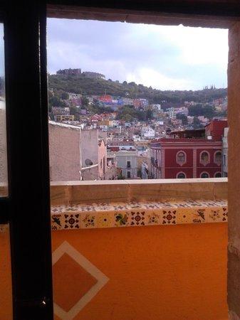 Hotel Real Guanajuato: terraza de habitación