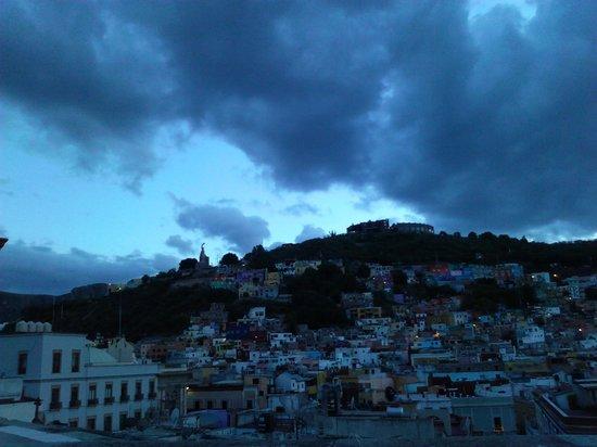 Hotel Real Guanajuato: terraza ultimo piso