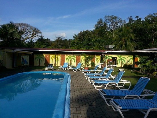 El Faro Beach Hostel: area