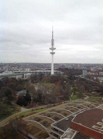 Radisson Blu Hotel, Hamburg: Utsikt