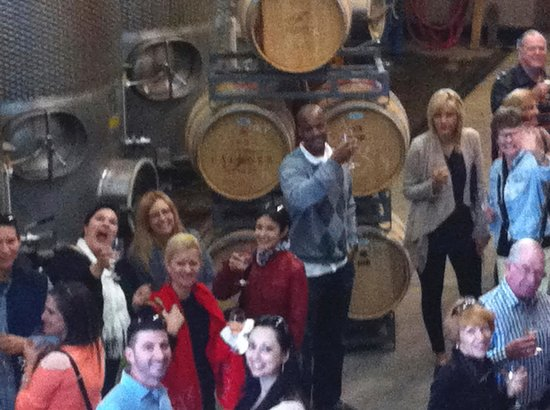 Grapeline Wine Tours : Our new friends….