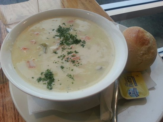 Fish Frenzy: This chowder is so good
