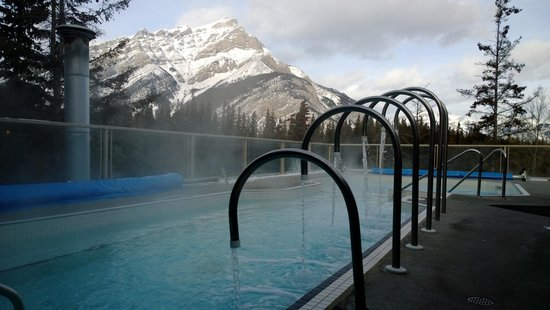 Outdoor hot tubs in banff images for Uniform swimming pool spa and hot tub code
