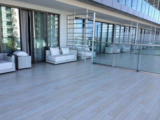 Secrets The Vine Cancun : Our huge balcony