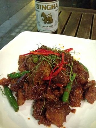 Home Thai Restaurant: Don't miss the Pad Pik Pao (#128)