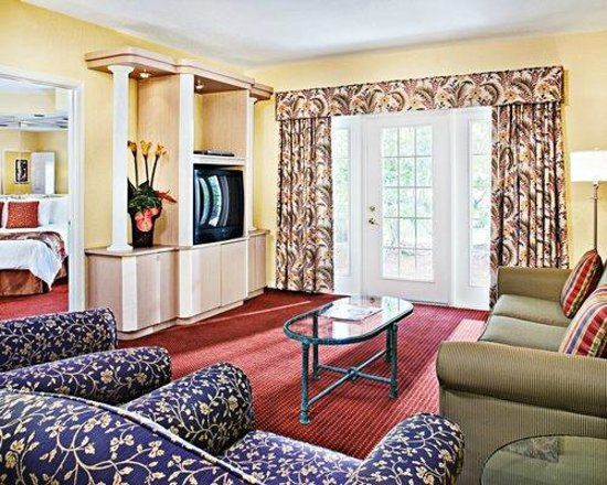 Star Island Resort and Club: Living Room advertised!