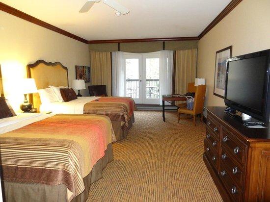 Hotel Talisa, Vail: Double Queen room