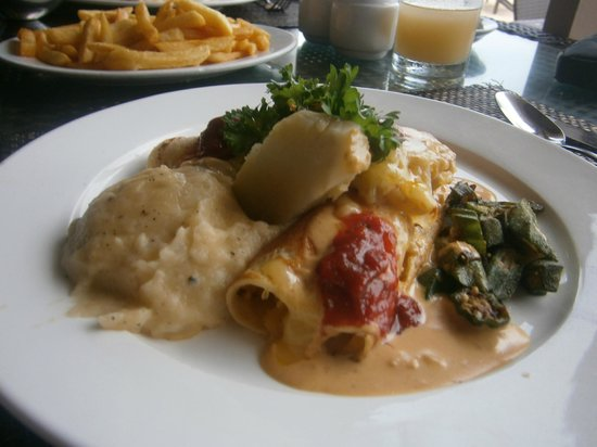 Plantation Island Resort: Pumpkin Cannelloni (Best dish!)
