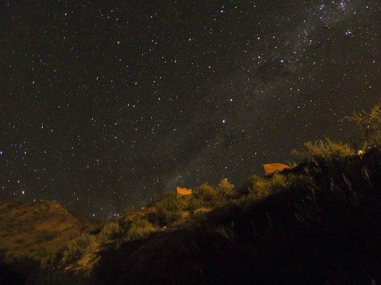 Cerro Chico: La noche que se ve desde este lugar