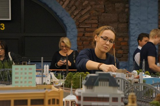 Grand Maket Russia Interactive Museum: the miniature is being completed