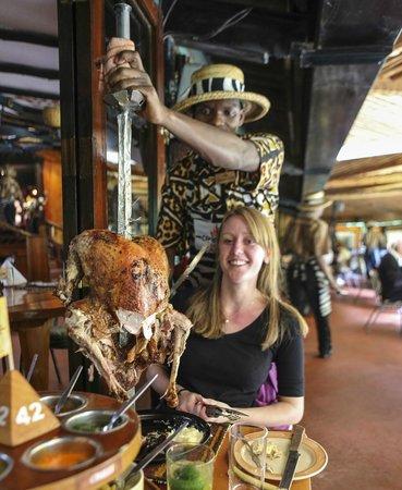 The Carnivore Restaurant: Casual turkey!